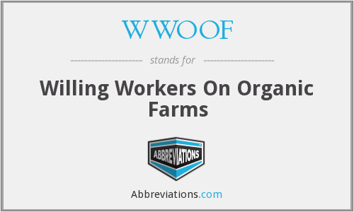 What does WWOOF stand for?