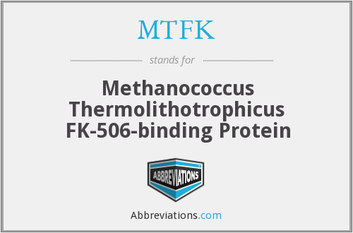 What does MTFK stand for?