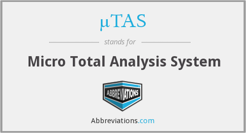 What does ΜTAS stand for?