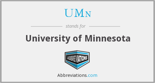What does UMN stand for?