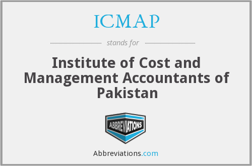 What does ICMAP stand for?