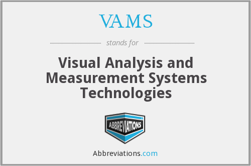 What does VAMS stand for?
