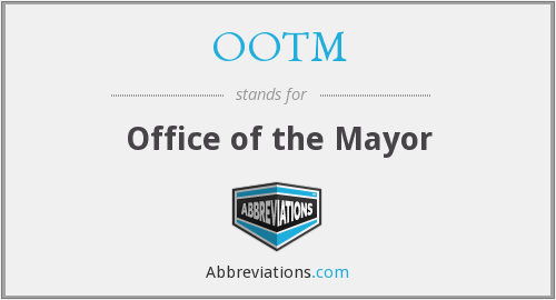 What does OOTM stand for?