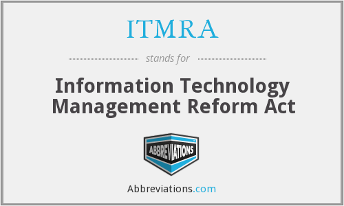 What does ITMRA stand for?