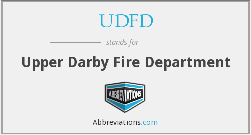What does UDFD stand for?