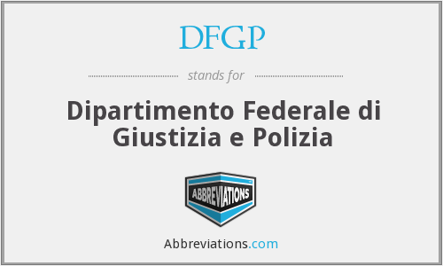 What does DFGP stand for?