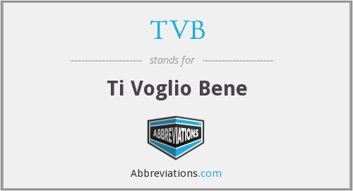 What does TVB stand for?
