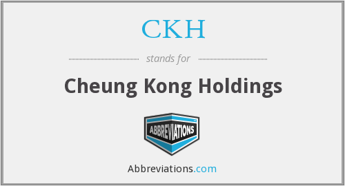 What does CKH stand for?