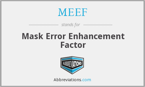 What does MEEF stand for?