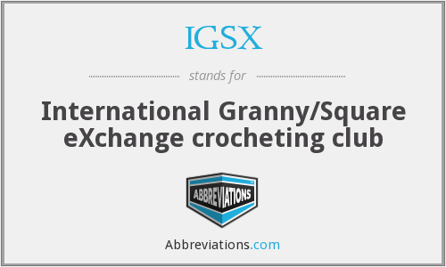 What does IGSX stand for?