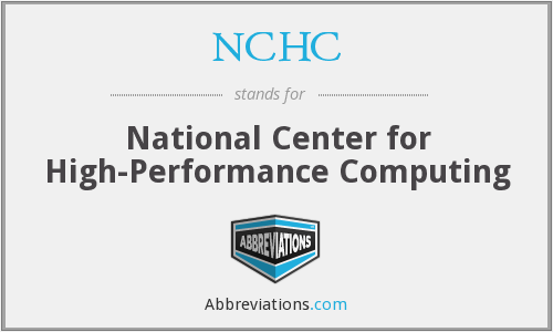 What does NCHC stand for?