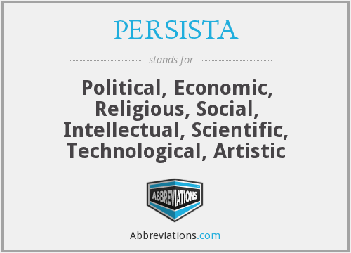 What does PERSISTA stand for?