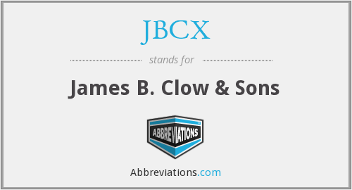 What does JBCX stand for?
