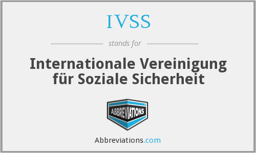 What does IVSS stand for?