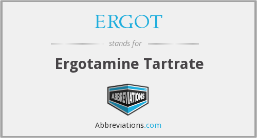 What does ERGOT stand for?