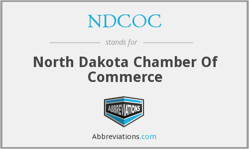 What does NDCOC stand for?