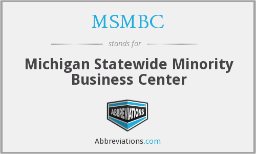 What does MSMBC stand for?