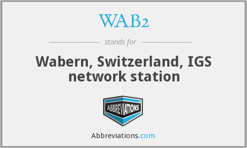 What does WAB2 stand for?