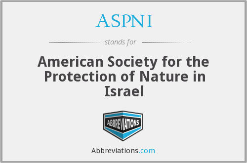 What does ASPNI stand for?