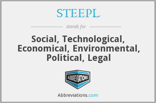 What does STEEPL stand for?