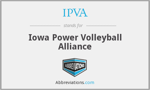 What does IPVA stand for?