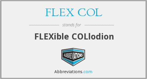What does FLEX COL stand for?