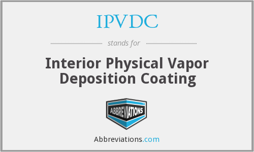 What does IPVDC stand for?