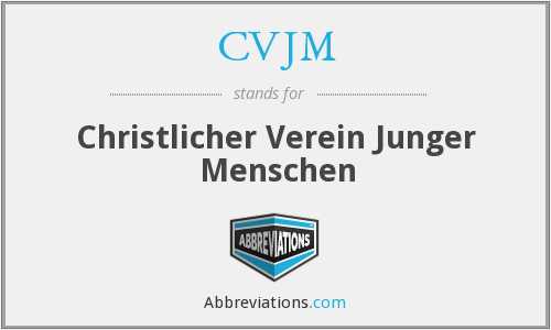 What does CVJM stand for?