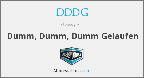 What does DDDG stand for?