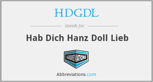 What does HDGDL stand for?