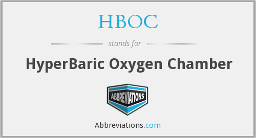 What does HBOC stand for?