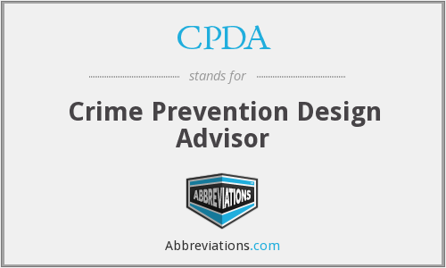 What does CPDA stand for?