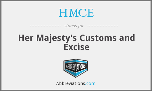 What does HMCE stand for?