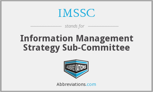 What does IMSSC stand for?