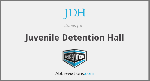 What does JDH stand for?
