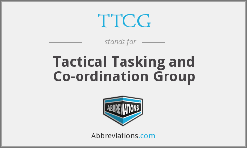 What does TTCG stand for?