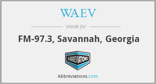 What does WAEV stand for?