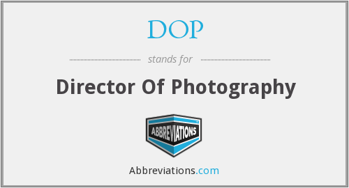 What does DOP stand for?
