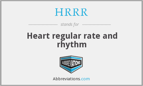 What does HRRR stand for?