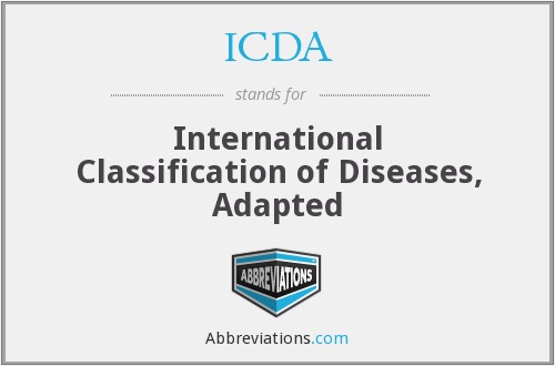 What does ICDA stand for?