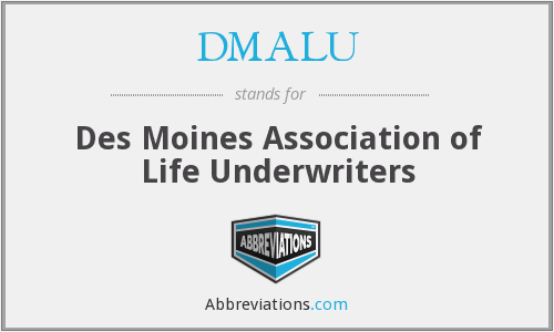 What does DMALU stand for?