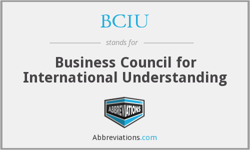 What does BCIU stand for?
