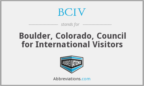 What does BCIV stand for?
