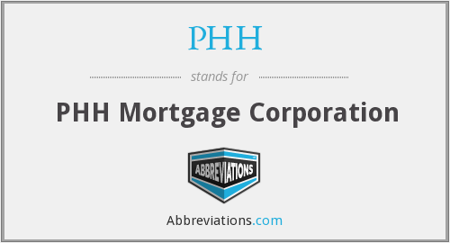 What does PHH stand for?