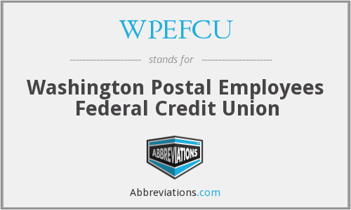 What does WPEFCU stand for?