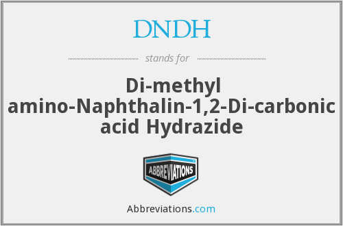 What does DNDH stand for?