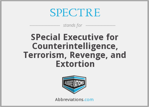 What does SPECTRE stand for?