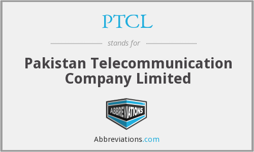 What does PTCL stand for?