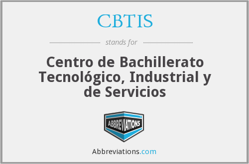 What does CBTIS stand for?