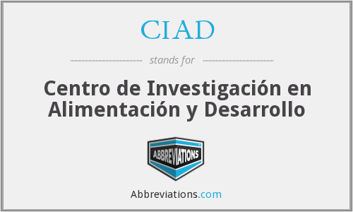 What does CIAD stand for?